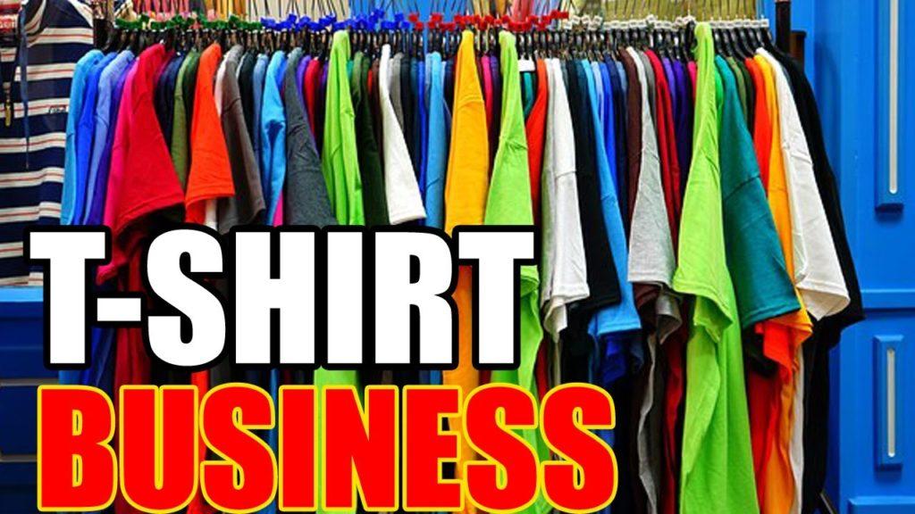 Starting A T Shirt Business Hgh